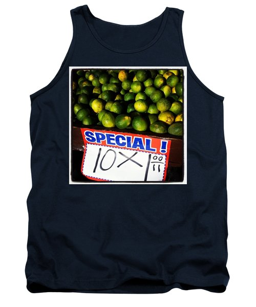 Tank Top featuring the photograph What Lime Shortage? #dontbelievethehype by Mr Photojimsf