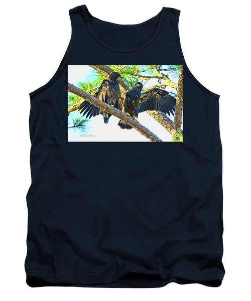Tank Top featuring the photograph What Shall I Say by Deborah Benoit