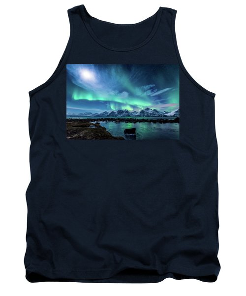 When The Moon Shines Tank Top