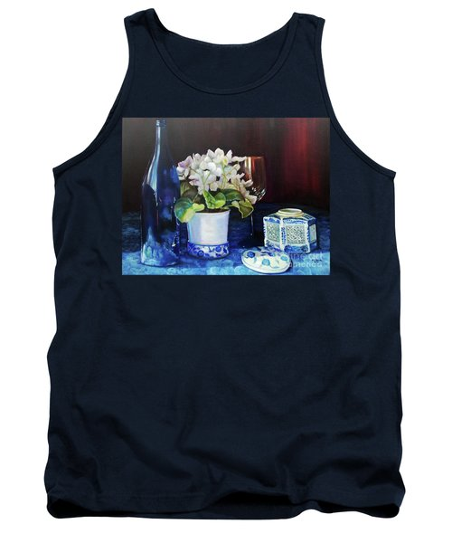 White African Violets Tank Top
