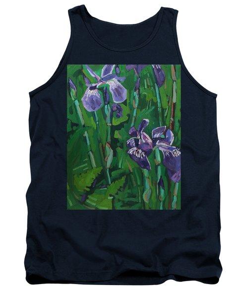 Wild Iris Tank Top