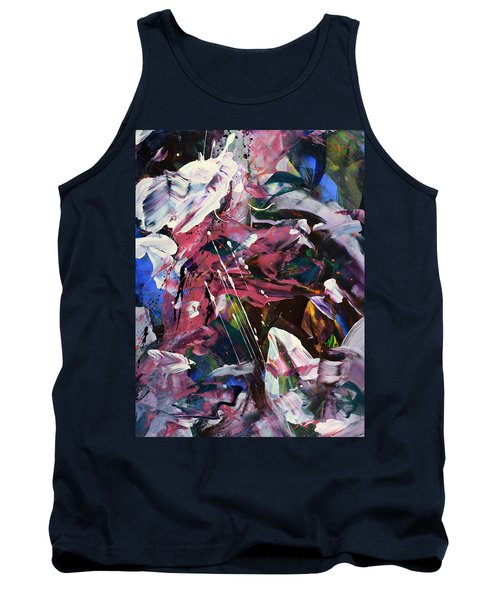 Wild Orchid Abstract Tank Top