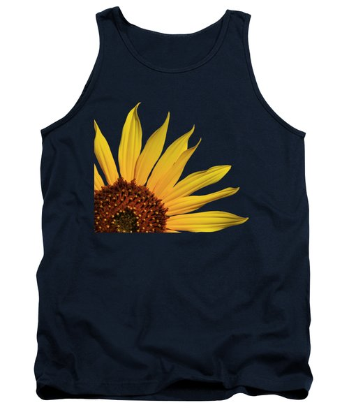 Wild Sunflower Tank Top by Shane Bechler