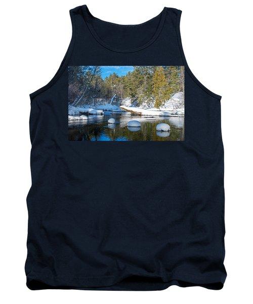 Winter Blues Tank Top