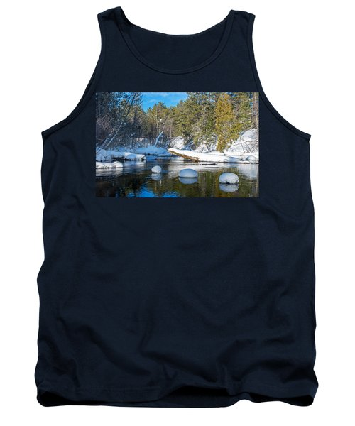 Winter Blues Tank Top