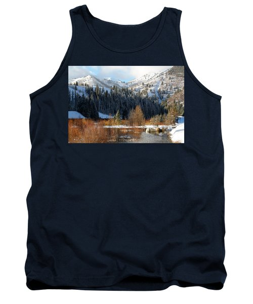 Winter I Big Cottonwood Canyon  Tank Top