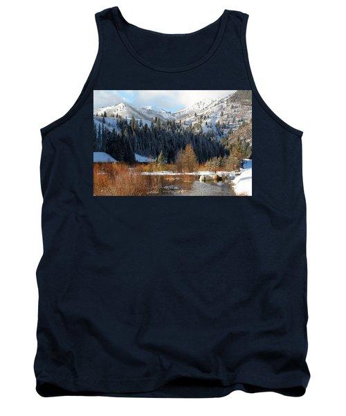 Winter I Big Cottonwood Canyon  Tank Top