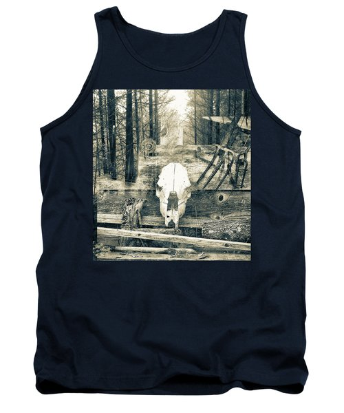 Winter In The In The Woods Tank Top
