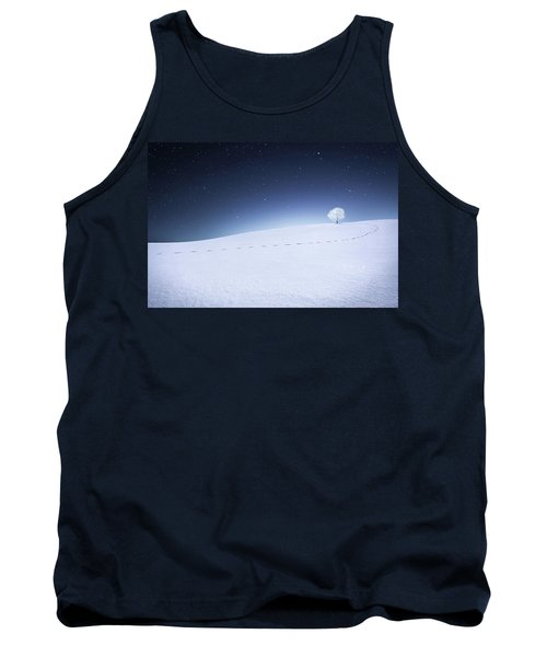 Tank Top featuring the photograph Winter Landscape by Bess Hamiti
