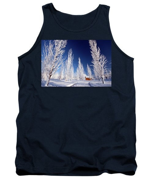 Winter Landscape Tank Top