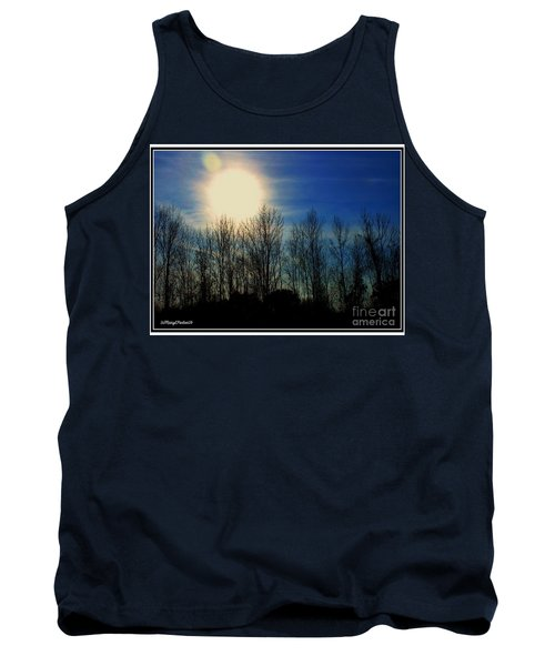 Winter Morning Tank Top by MaryLee Parker