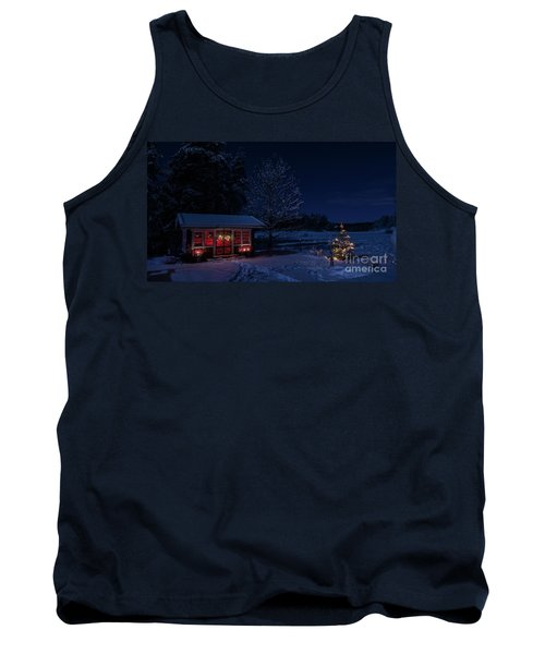 Tank Top featuring the photograph Winter Night by Torbjorn Swenelius
