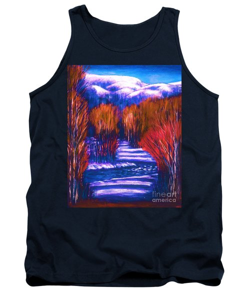 Winter Shadows  Tank Top