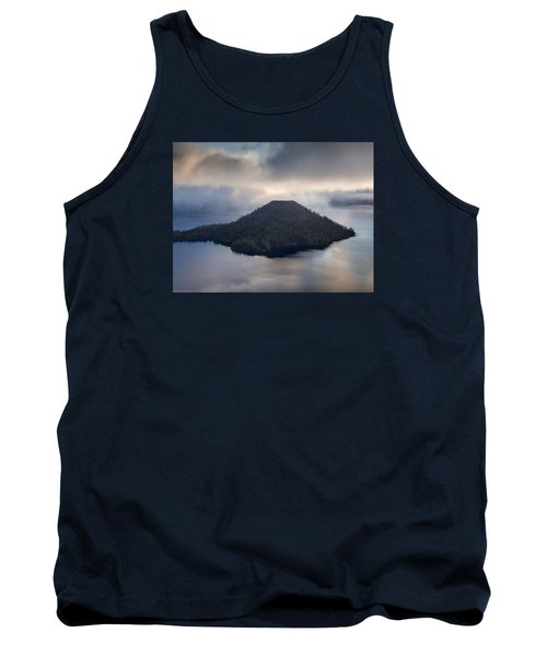 Wizard Among The Mists Tank Top by Greg Nyquist