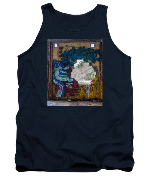 Wompatuck Graffiti Man Tank Top