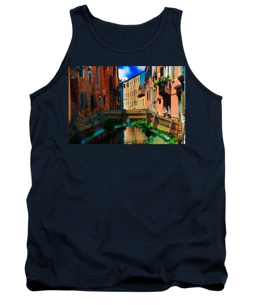 Wooden Bridge Tank Top by Harry Spitz