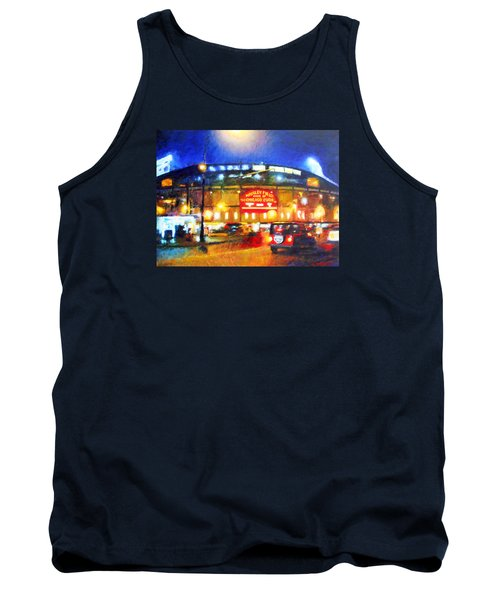 Wrigley Field Home Of Chicago Cubs Tank Top