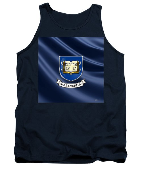 Yale University Coat Of Arms.  Tank Top