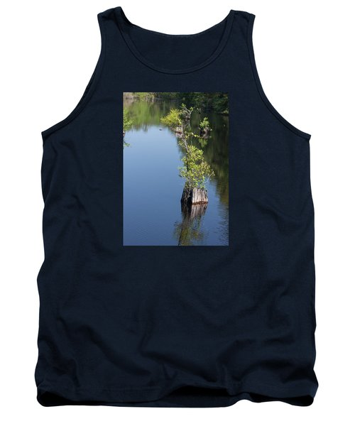Tank Top featuring the photograph Yawkey Wildlife Refuge - Cat Island by Suzanne Gaff