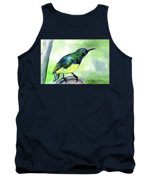 Yellow Bellied Sunbird Tank Top