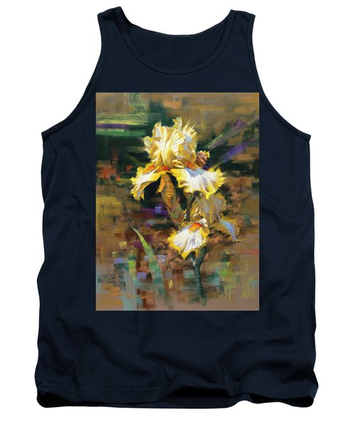 Yellow Iris II Tank Top