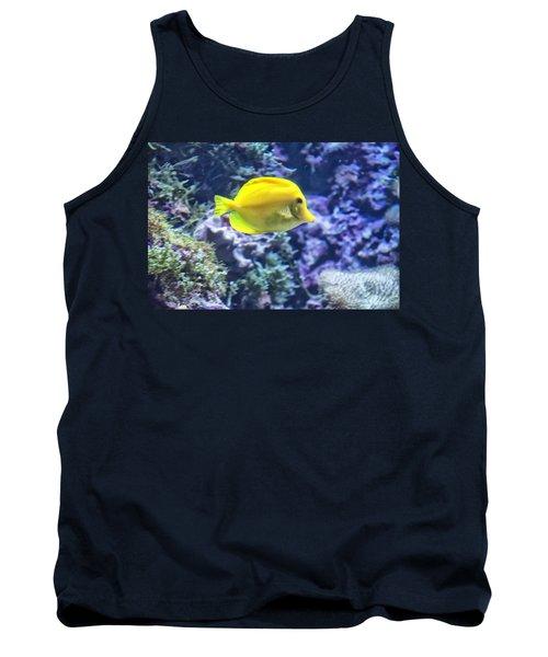 Yellow Tang Tank Top