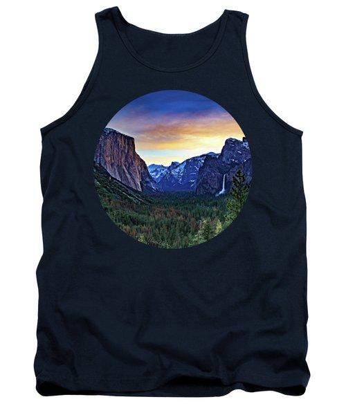 Yosemite Sunrise Tank Top by Adam Morsa