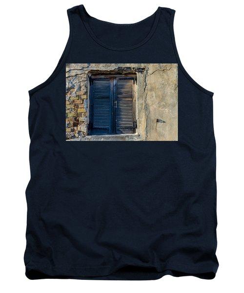 Zakynthos Town Window Tank Top by Rainer Kersten
