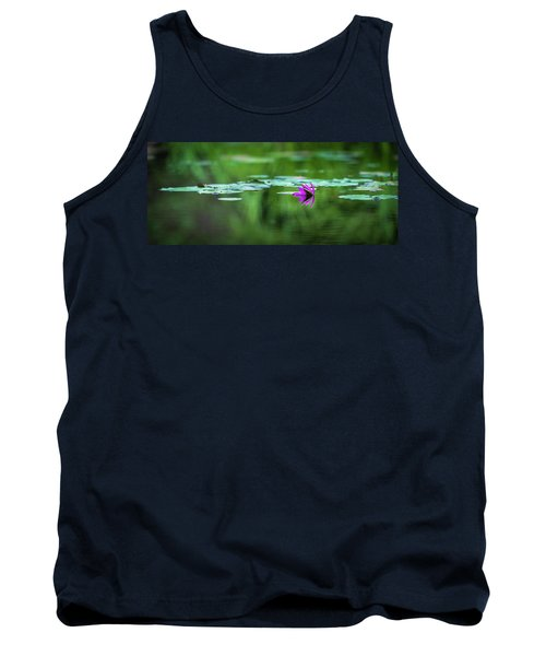 Tank Top featuring the photograph Zen Blossom by Laura Roberts