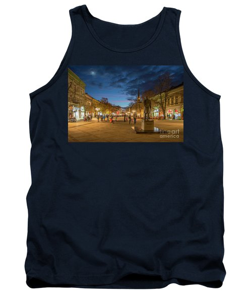 Zmaj Jovina Street In Moonlight Tank Top