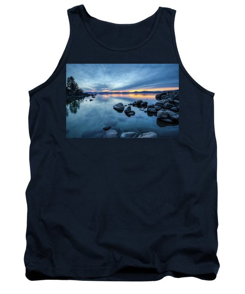 Colorful Sunset At Sand Harbor Tank Top