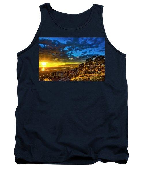 Santa Monica Bay Sunset - 10.1.18 # 1 Tank Top