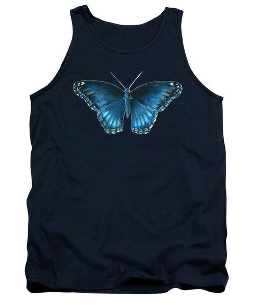113 Brenton Blue Butterfly Tank Top