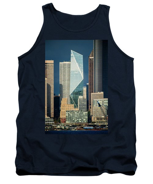 Modern Architecture In City, Seattle Tank Top