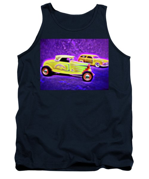 32 Roadster And 49 Woody Tank Top