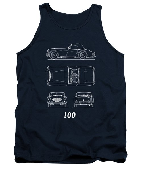 The Austin-healey 100 Tank Top