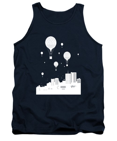 Balloons And The City Tank Top
