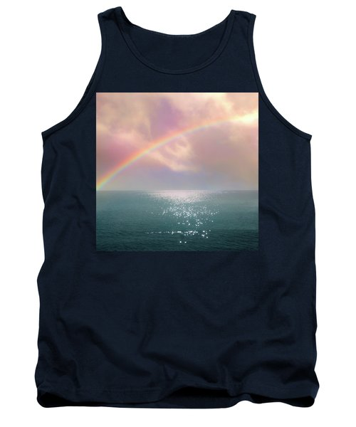 Beautiful Morning In Dreamland With Rainbow Tank Top
