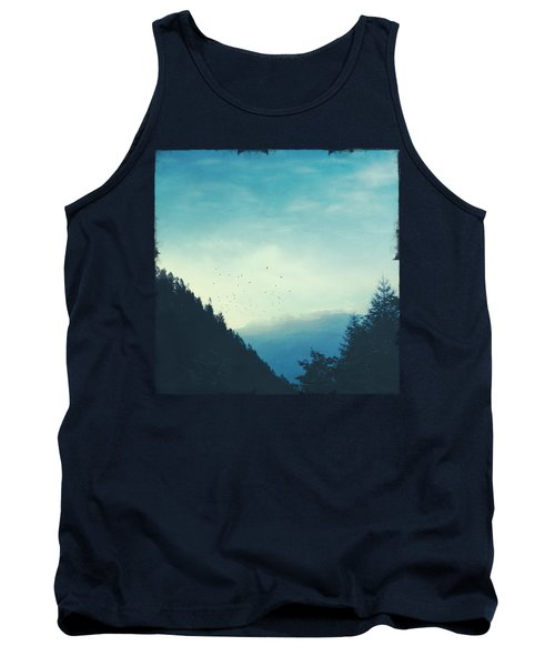 Beautiful Mountain Morning Tank Top