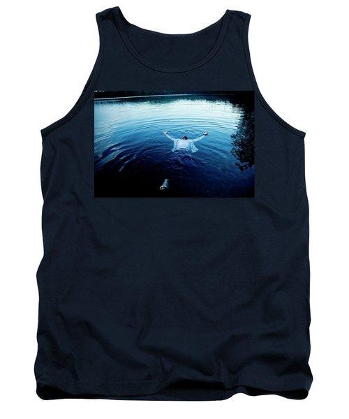 Blue Lake Tank Top