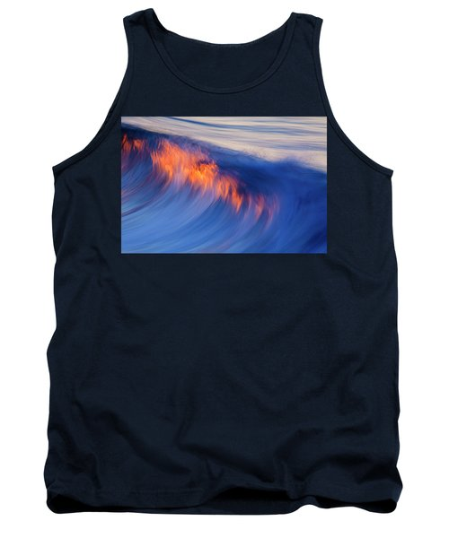 Burning Wave Tank Top