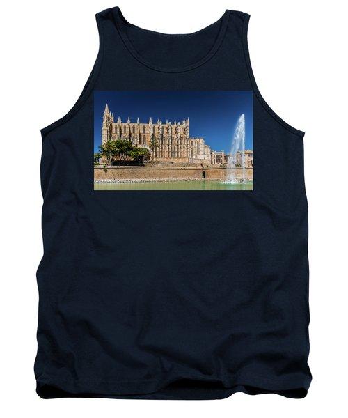 Catedral Basilica De Santa Maria De Mallorca, Spain Tank Top