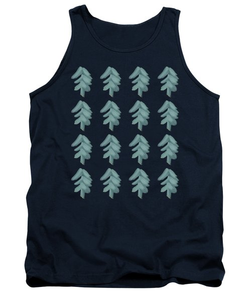 Christmas Tree Pattern Tank Top