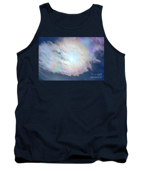 Cloud Iridescence Tank Top