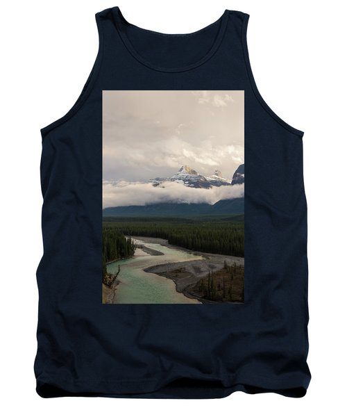 Tank Top featuring the photograph Clouds In The Valley by Alex Lapidus