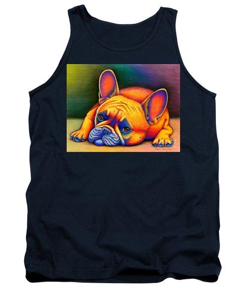 Daydreamer - Colorful French Bulldog Tank Top