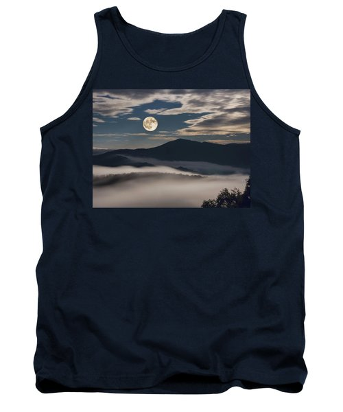 Dance Of Clouds And Moon Tank Top