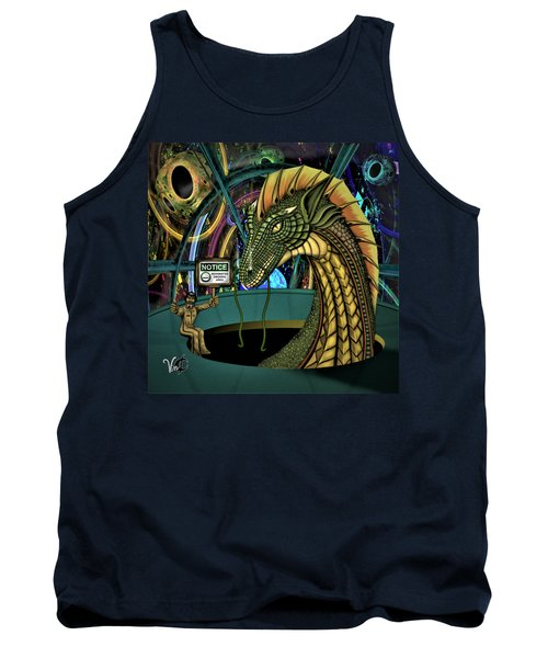 Designated Smoking Section Tank Top