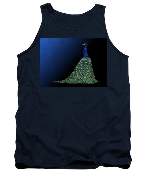 Dressed To Party - Male Peacock Tank Top