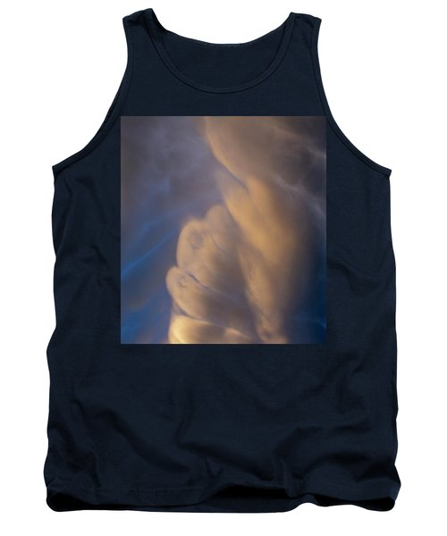 Dying Thunderstorms At Sunset 017 Tank Top
